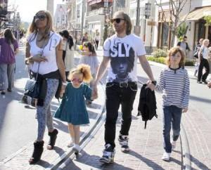 David Guetta and family