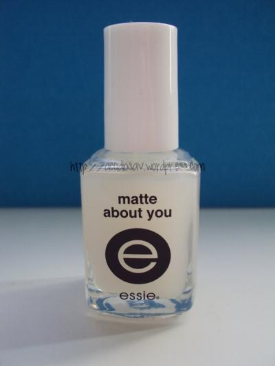 Review: Essie Matte About You