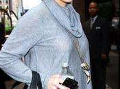 Hilary Duff: Chanel Fall 2010 tote Alice+Olvia drape cowl neck sweater