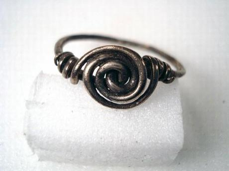 wire rosette ring originale