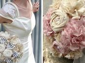 Stoffe, perle spille realizzare bouquet veramente vintage