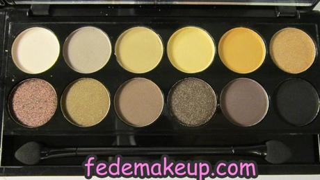 Haul Sephora Palette Sleek Au Naturel e Snapshots