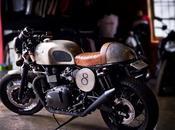 Tyler Florence's Triumph Bonneville Cafe Racer