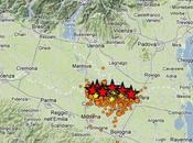 Nuova scossa terremoto Emilia