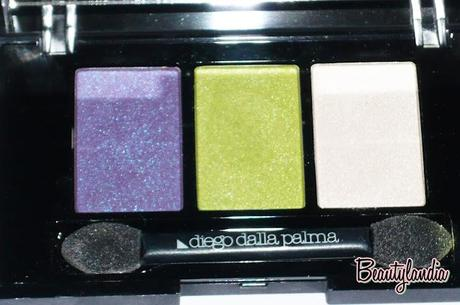 Diego dalla Palma - Swatch e Review Electric Trio Eyeshadow della collezione ELECTRIC SOUL