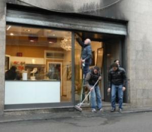 Milano: attentato a una panetteria a Binasco. Odore di racket o criminalità organizzata ?