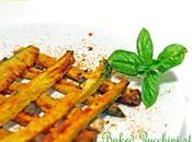 Stick zucchine forno Baked zucchini sticks