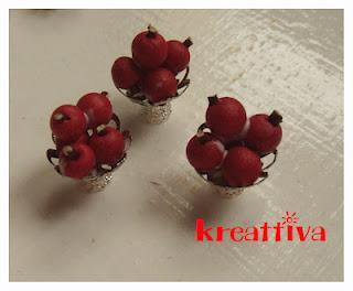 Portafrutta in miniatura - Paperblog
