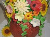 Torta mazzo fiori estivi festa della mamma