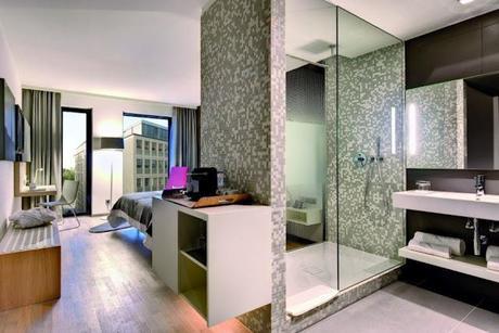 arredamento design bagno doccia in camera da letto kaldewei