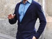 Marco Borriello sfila Milano come modello