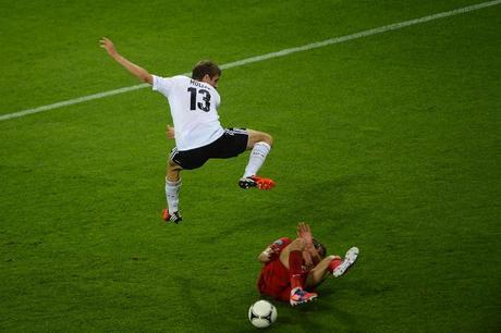 Germania-Portogallo 1-0, Olanda-Danimarca 0-1