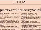 Beppe Grillo risponde Financial Times