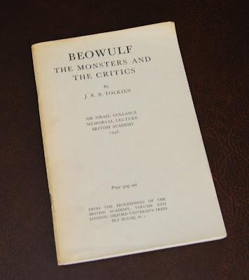 Beowulf: The Monsters and the Critics, edizione inglese 1971
