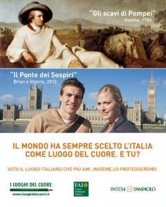 Italia, luogo del cuore del mondo