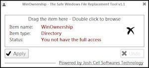 Accedere a file e cartelle con WinOwnership