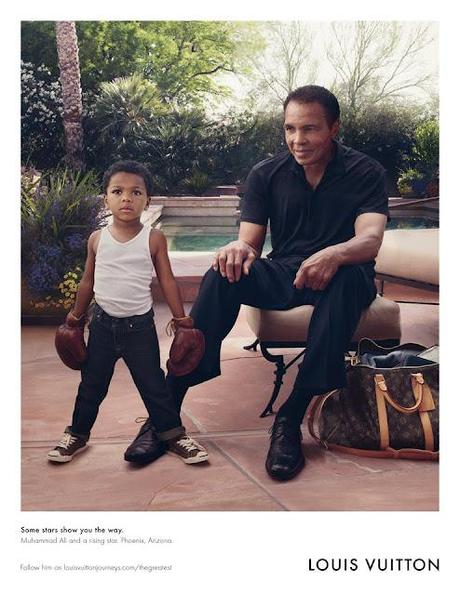 Muhammad Ali is the New Face of Louis Vuitton