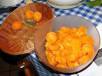 Cheese cake fresca di albicocche