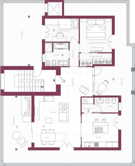 Abitare in mansarda tante soluzioni salvaspazio e un - Soluzioni salvaspazio casa ...
