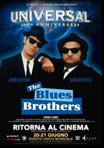 """Il 20 e 21 giugno """"The Blues Brothers"""" torna al cinema!"""