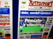 FOTO Ecco prime pag. della Gazzetta dello Sport, Corriere Sport TuttoSport