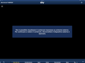 Eliminato supporto AirPlay SkyGo