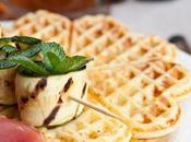 Waffles salati giornata della birra