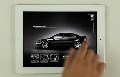 Grande pubblicità sul tablet: iPad crash