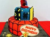 SpiderMan Cake amazing ....