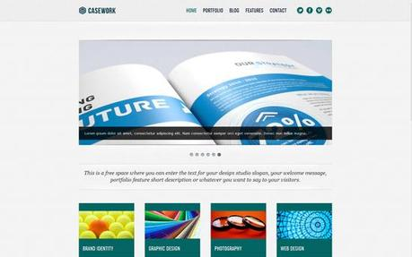 New WordPress Template Design