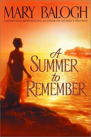Cover of A Summer to Remember by Mary Balogh