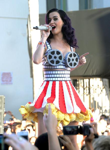 Katy Perry e il look cartoon pellicola
