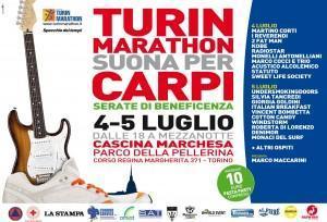 Turin Marathon e la Fondazione La Stampa Specchio dei Tempi insieme per Carpi