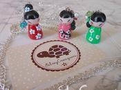 Collane bamboline giapponesi