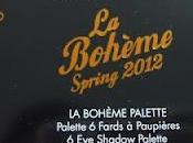 "Make ever Bohème"" spring 2012 !!!Palette ombretti review!"