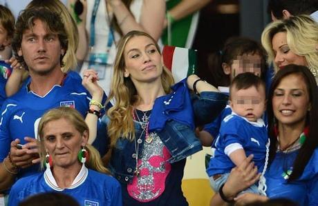 Azzurri, le mogli dei calciatori della Nazionale italiana