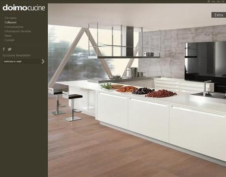 Nuovo sito per Doimo Cucine - Paperblog