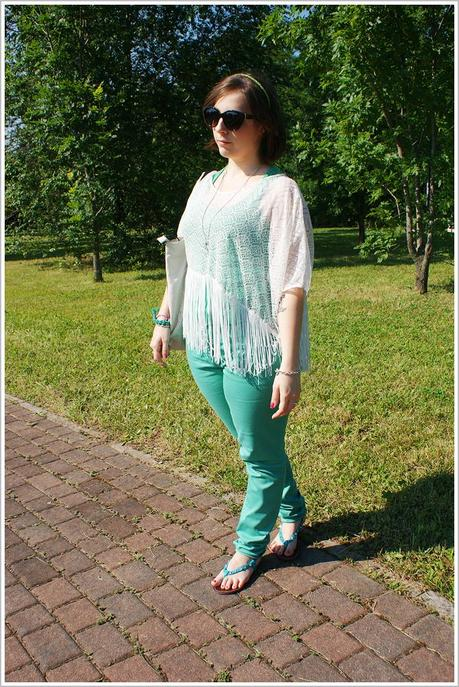 Look of the day: Green on Green