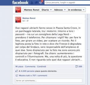 Dopo Firenze, sesso in strada anche a Milano: e continua lo scambio di accuse tra Renzi e Lega