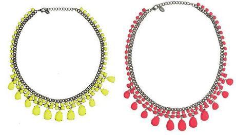 molto carino dc03a 8b907 Accessori | Zara, H&M e le tonalità fluo - Paperblog