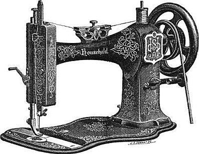 Storia della macchina da cucire i parte paperblog for Vendo macchina da cucire