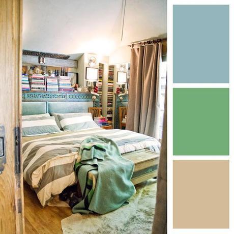 Arredamento abbinamento colori: I TONI FREDDI PASTELLO - Paperblog