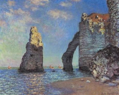 una immagine di The Cliffs of Étretat 1885 di Claude Monet1 620x495 su Poesie e Racconti #31   Incompleta