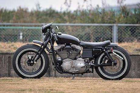 Harley Sportster 1200 by Indigo Custom Cycle