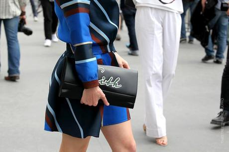 In the Street...Outside Chanel...Haute Couture Paris