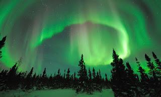 Registrato suono misterioso durante aurora polare