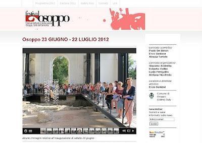 Festival dell 39 arte e 2012 paperblog for Pittini arredamenti osoppo