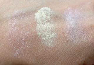 Review: e.l.f. Mineral Booster in Sheer, Yellow e Shimmer