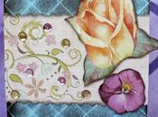 Tecnica Scrapbooking: Card Trapunta shabby Shabby Quilt