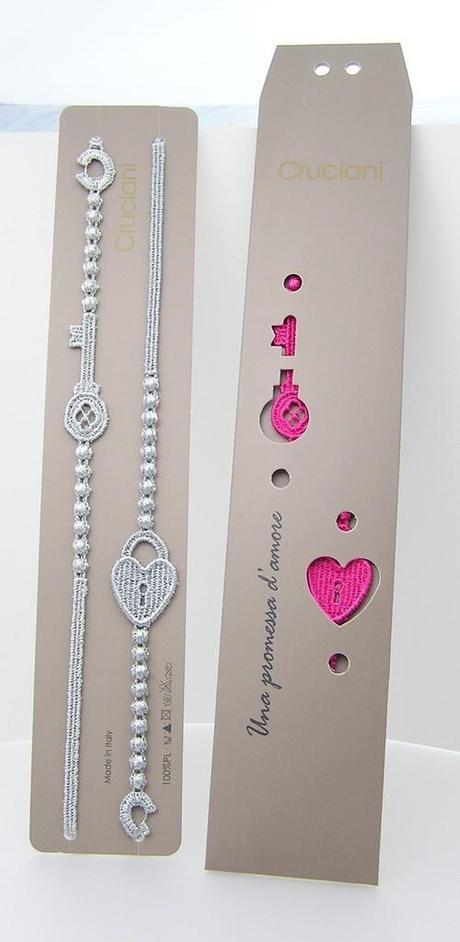 on sale b066d a88c3 Il braccialetto Cruciani con Chiave e Lucchetto per una ...